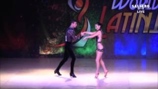 TURKISH SALSA STARS CEM&MELISA ABDA DANCERS WLDC MIAMI 2015 ON1- 6.PLC