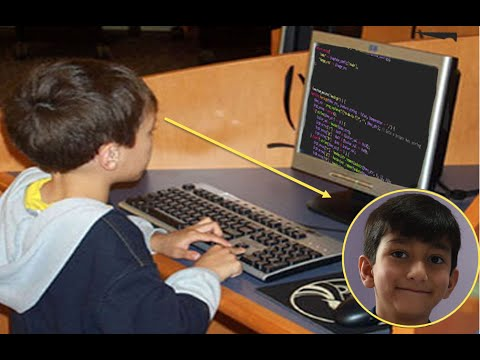 World's Youngest Programmer Is Only 7 years old Who Aims To Be Next 'Bill Gates' | live News 24x7