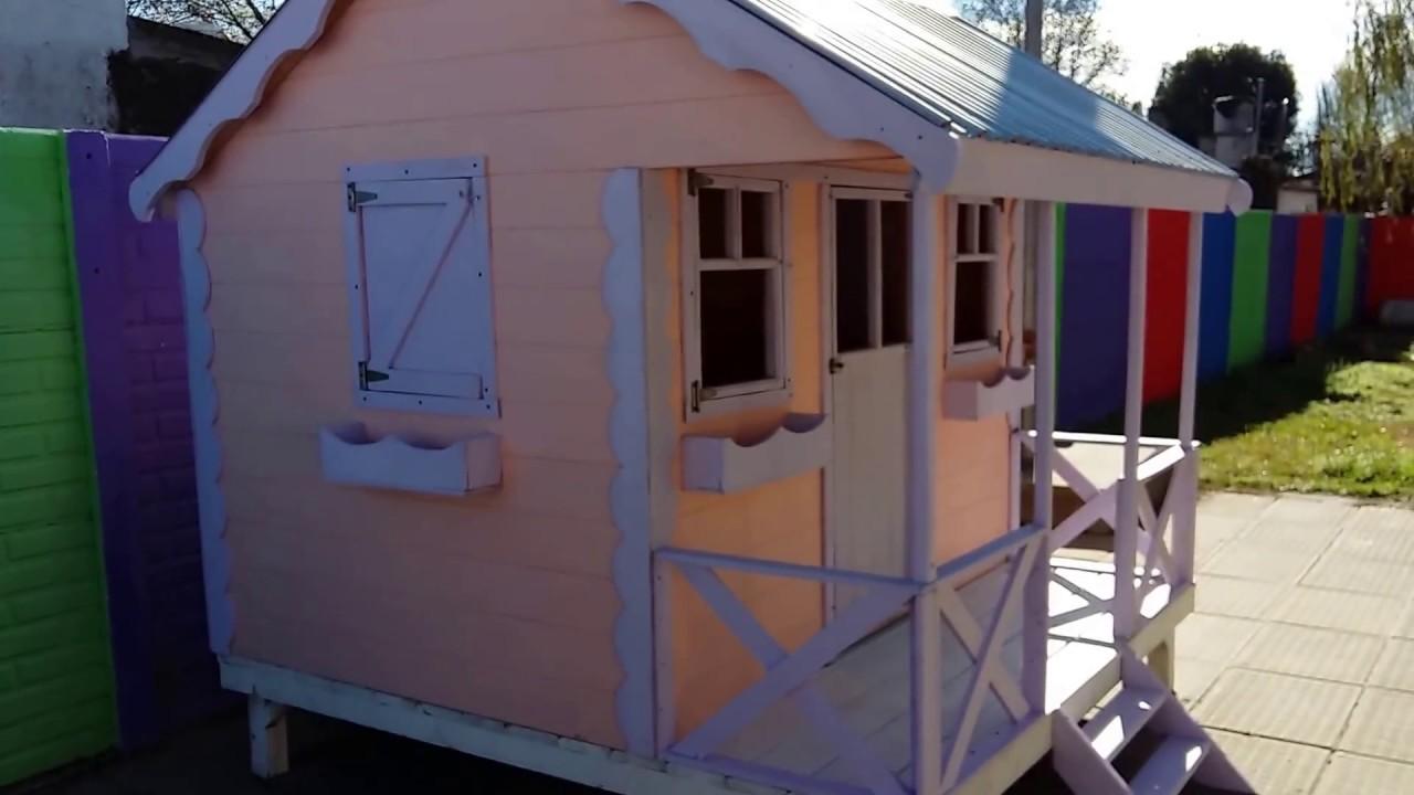 Como hacer una casitas del rbol casitas de madera para for Casita infantil jardin