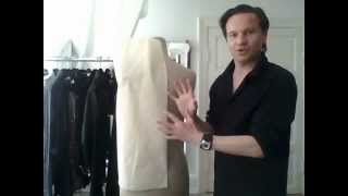 3. How to drape a basic ladies