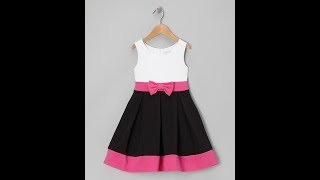 1 year baby frock cutting and stitching  full tutorial