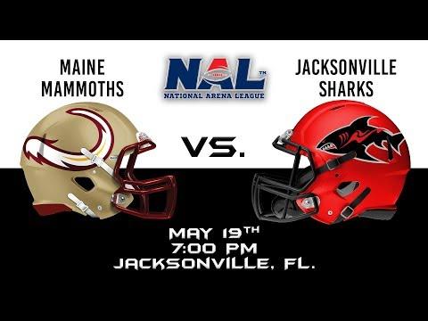 Maine Mammoths vs Jacksonville Sharks