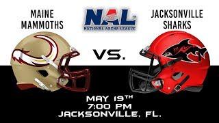 Maine Mammoths vs Jacksonville Sharks thumbnail