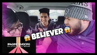 Imagine Dragons - Believer (Audio) ft. Lil Wayne / Reaction!! They killed it!!!
