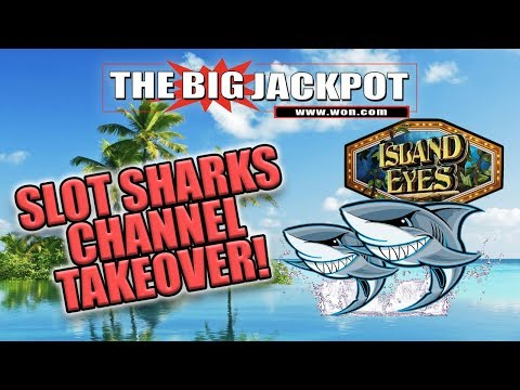 🦈 SLOT SHARKS CHANNEL TAKEOVER 🦈 BIG BOOM ON ISLAND EYES 💣