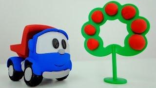 Мультики про машинки: Грузовичок Лёва Малыш! Геометрические фигуры и Цвета для детей. 자동차 만화
