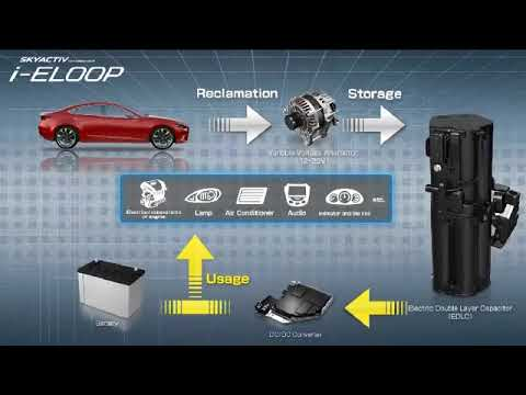 Mazda i-Eloop - Brake Energy Regeneration System