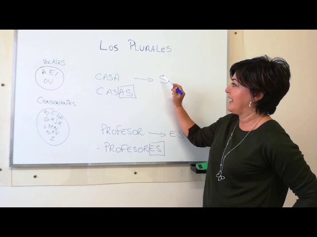 I plurali in Spagnolo - Lezione di Spagnolo