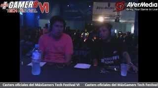 Final Masgamers Tech Festival Lima - PES 2014  -   Ivo VS Denis