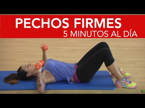 8 ejercicios para unos pechos firmes con solo 5 minutos al día  ??