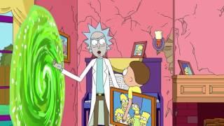 Rick e Morty Conheçe os Simpsons   Dublado PT BR   720P HD1
