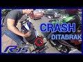 R15 V3 DITABRAK MESINNYA MATI TOTAL  motovlog Indonesia