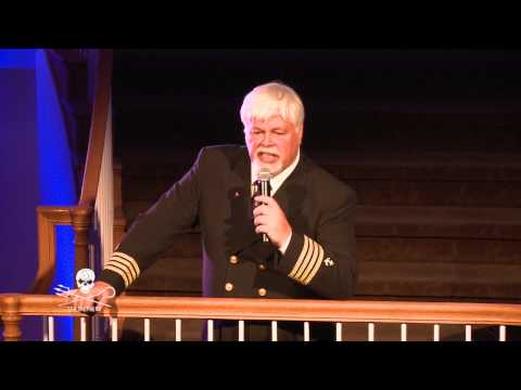 Captain Watson Gives Speech at Sea Shepherd 35th Anniversary Event in Colorado