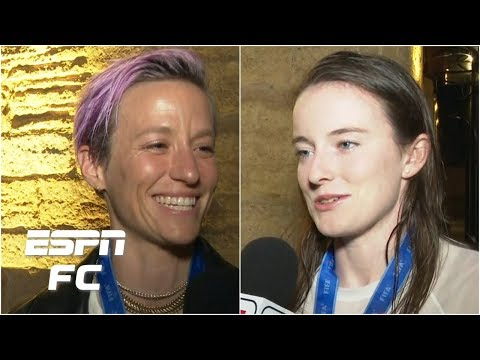 SHORT-E - Megan Rapinoe & Rose Lavelle Share Thoughts On Winning World Cup