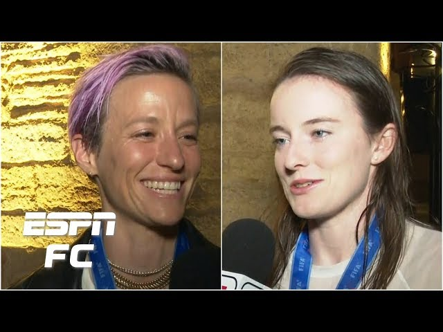 Megan Rapinoe, Rose Lavelle share emotions of World Cup Final victory | 2019 Women's World Cup
