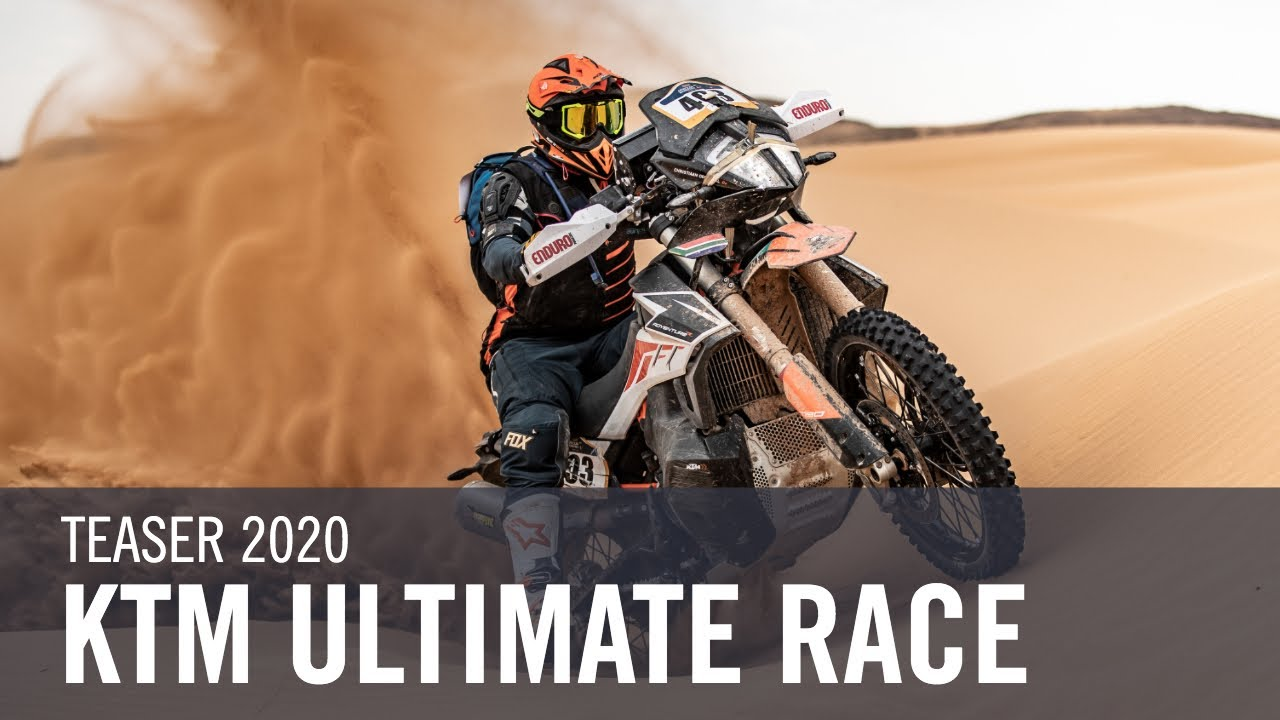 Ready for the ultimate ADVENTURE experience? | KTM ULTIMATE RACE 2020
