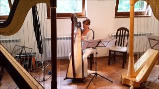 Angela Madjarova at Summer Harp Academy - July 2015