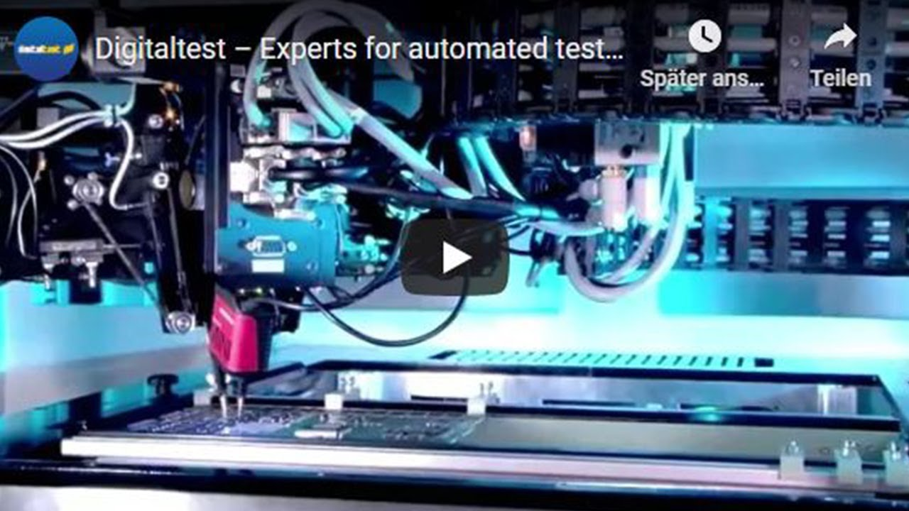 Digitaltest – Experts for automated test equipment - YouTube