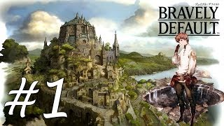 Bravely Default Gameplay Walkthrough Part 1 - Fate of Norende [English][N3DS]
