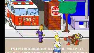 Game | The Simpsons Arcade Playthrough Stage 1 by Kitsune Sniper | The Simpsons Arcade Playthrough Stage 1 by Kitsune Sniper