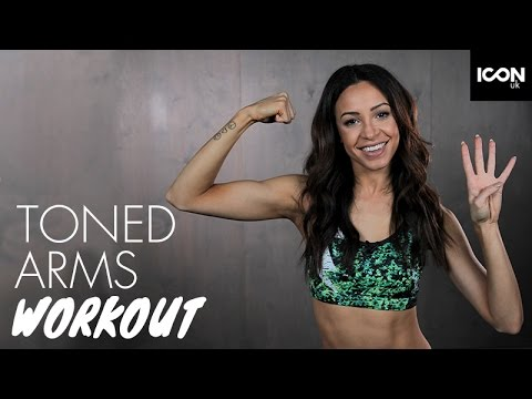 Workout: Top 4 Exercises For Slim Toned Arms  Danielle Peazer