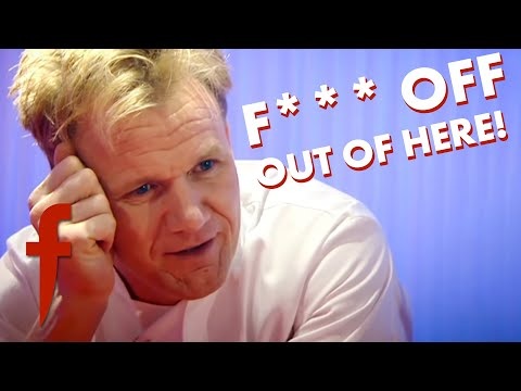 Gordon Ramsay Can't Take Losing! | The F Word