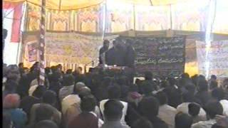 zakir habib raza jhandvi ashra e moharam 2012 qasr e sakeena sa bhian wala kalan muridke