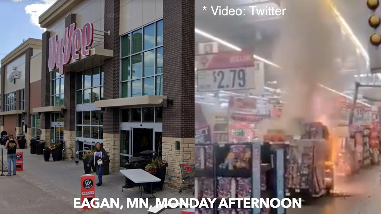 Download Juveniles In Custody After Fireworks Fire In Eagan, MN Grocery Store