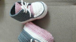 bebek converse patik yapılışı(part 2)(1yaş için)