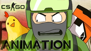 [CS:GO Animation] Tick Tick Boom - COUNTER STRIKE-Musik-Video