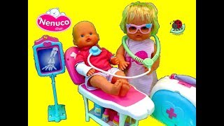 Nenuco Baby Doll Medical Toy Playset Consulta Medica - itsplaytime612