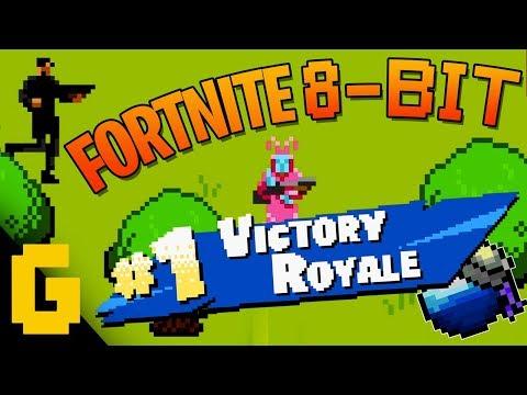 Fortnite Battle Royale Gets An 8-Bit Makeover!