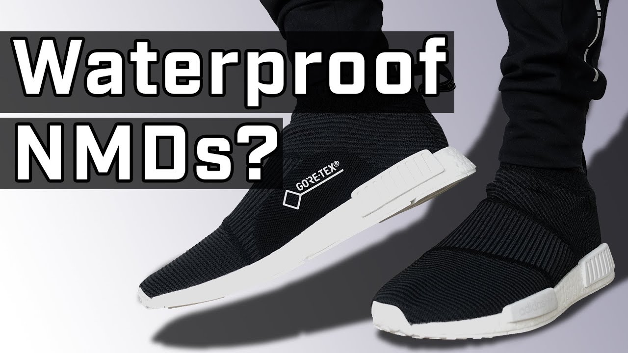 1b2828eff12c4 Adidas NMD CS1 Gore-Tex Sneaker REVIEW - YouTube