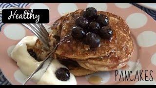 HEALTHY Banana Oat Pancakes (DAIRY FREE)
