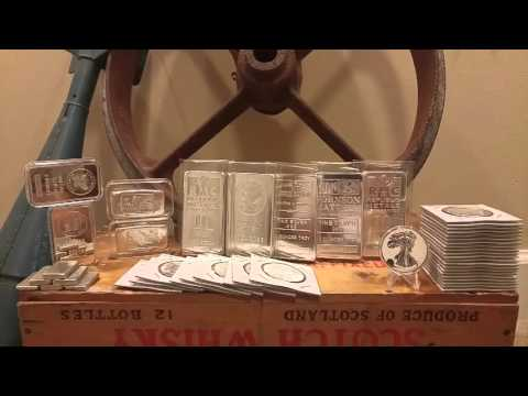 100 Oz's Ounces of Silver Bars & Rounds Goal COMPLETE!