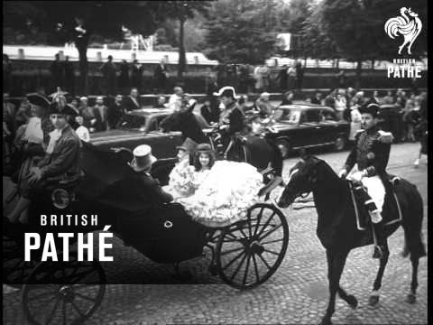 Historical Parade From Paris To Versailles (1959)