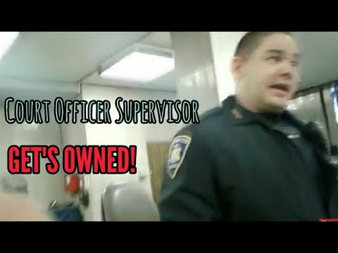 COURT OFFICER GETS OWNED!!! Civil Rights Activist Lays The Smack Down - QuietBoyMusik