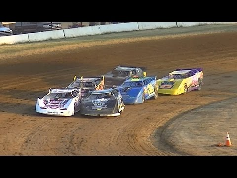ULMS Super Late Model Heat One | McKean County Raceway | 7-14-16