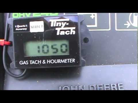 Tiny Tach Installation and Test - YouTube