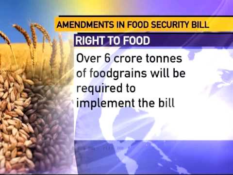 Revised National Food Security Bill