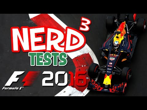 Nerd³ Tests... F1 2016 - Fancy Go Karts