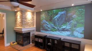YOU CAN TREAT YOUR PROJECTION SCREEN LIKE YOUR TV! WHAT OTHER SCREEN PAINTS CAN NOT DO!