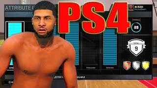 PS4 My Player Creation | 6'5 PG OUTSIDE | Attributes, Signature Styles