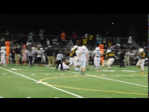 Thomas tackle St. Frances/Avalon football 08/26/16
