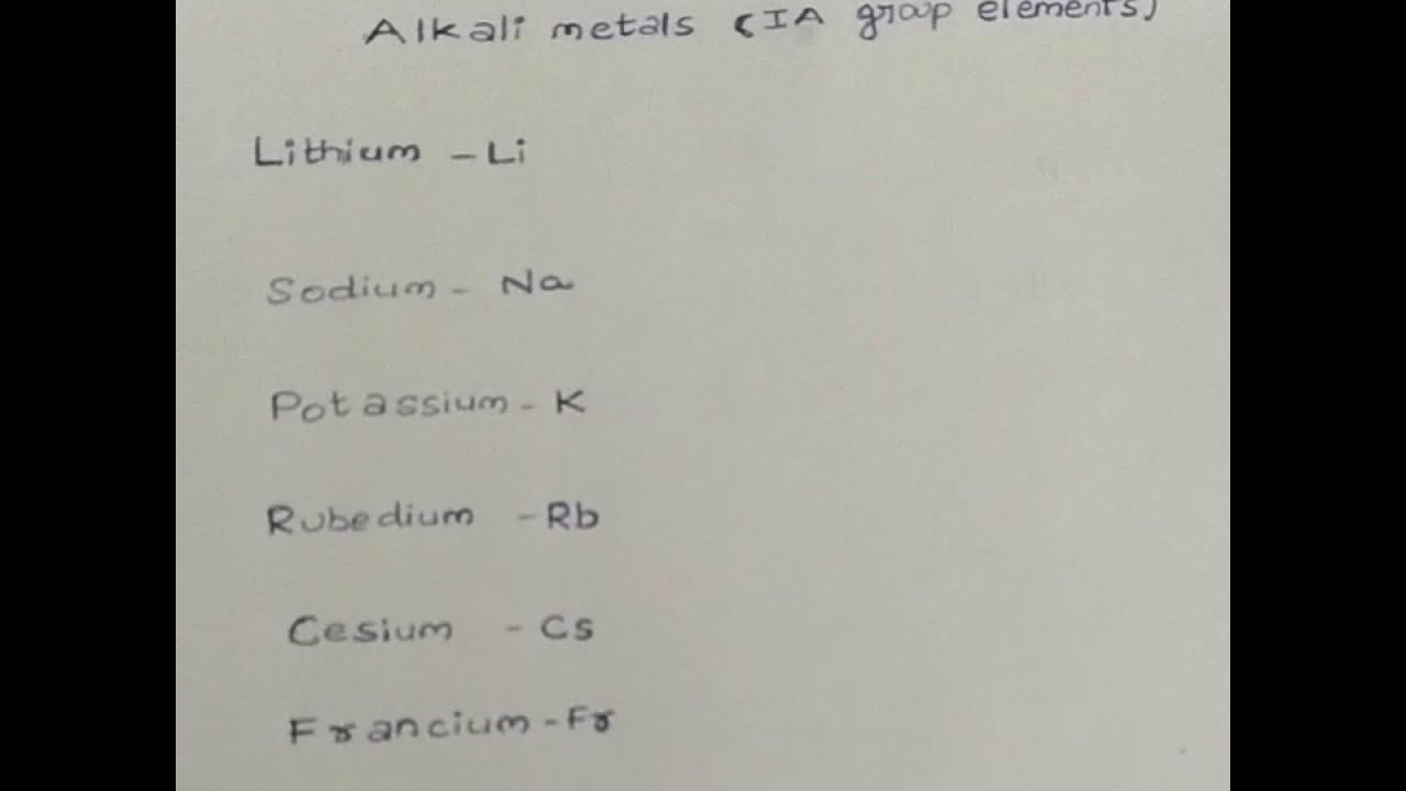 S block elements alkali metals tricks to remember periodic table s block elements alkali metals tricks to remember periodic table gamestrikefo Choice Image