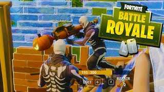 MY BEST GAME YET! - Fortnite Battle Royale with The Crew!