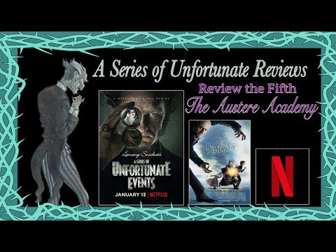Netflix A Series of Unfortunate s, The Austere Academy ~ The Dom
