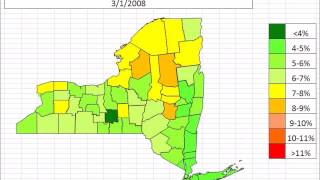 New York Unemployment By County October 2013