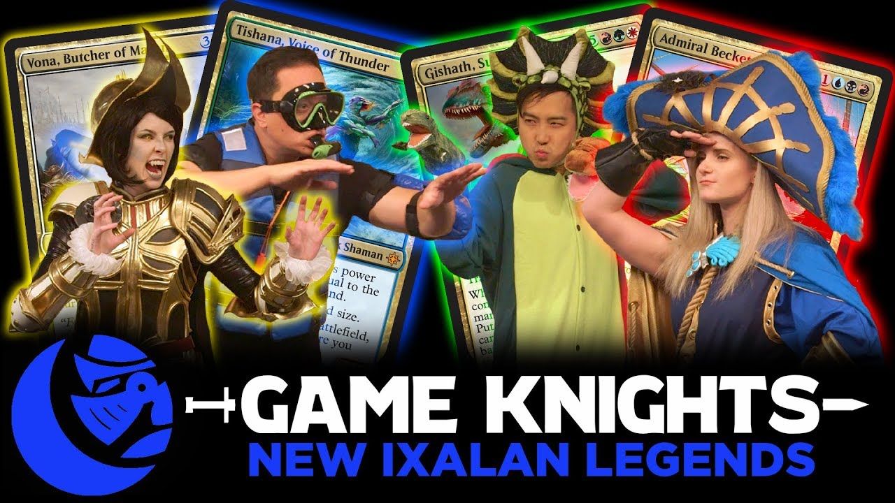 New Ixalan Legends L Game Knights 11 L Magic The Gathering Gameplay Commander Edh