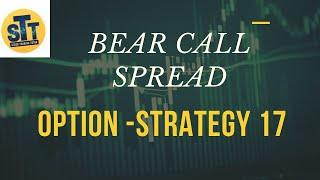 STT | Option Strategy 17 Bear Call Spread Option | stock trading tutor